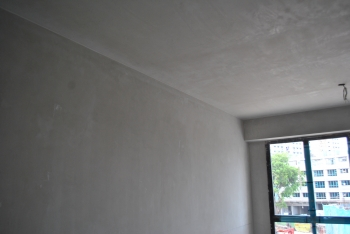 Inverted Corner Bead Between Wall and Ceiling